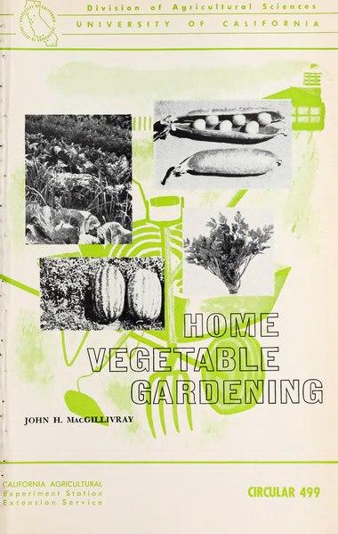 File:Home Vegetable Gardening.djvu