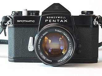 Pentax cameras - Spotmatic with Super-Takumar 1:1.4 50mm lens