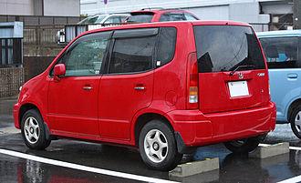 Honda Capa - Rear view of Honda Capa