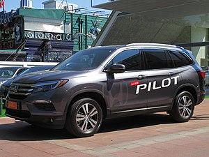 Honda Pilot - Image: Honda Pilot 3.5 Elite AWD 2016