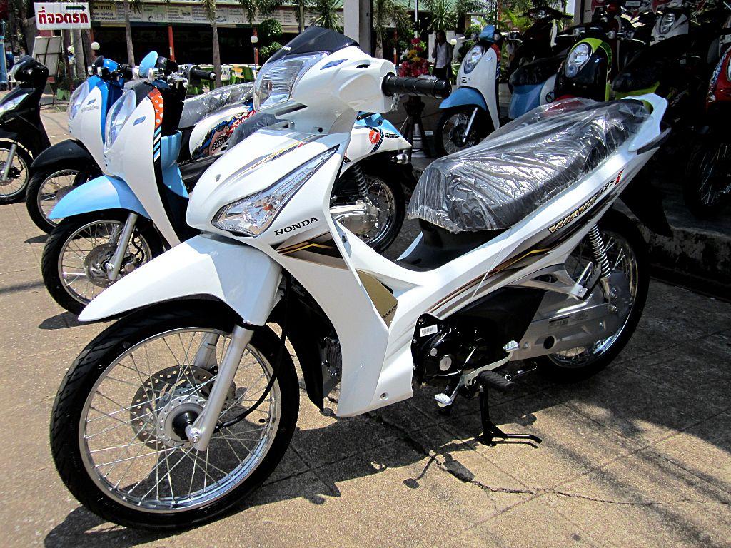 File Honda Wave 125i 2012 Trat Thailand Jpg Wikimedia
