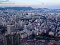 Hong Kong skyline view from Sky100 - Wikimania 2013 welcome party - 2420.jpg