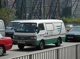 Mail truck - Hong Kong Post Speedpost van