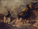 Honoré Daumier - Don Quichotte et Sancho Pansa - Google Art Project.jpg