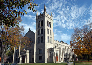 Reformed Church in America - The Dimnent Chapel at Hope College, in Holland, Michigan
