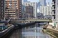 Horikawa view from Sumiyoshi Bridge 20190309-02.jpg