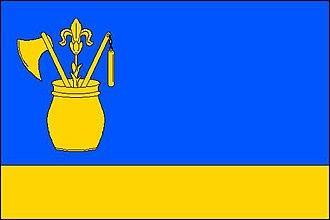 Horní Tošanovice - Image: Horní Tošanovice vlajka