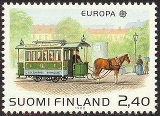 History of the Helsinki tram system