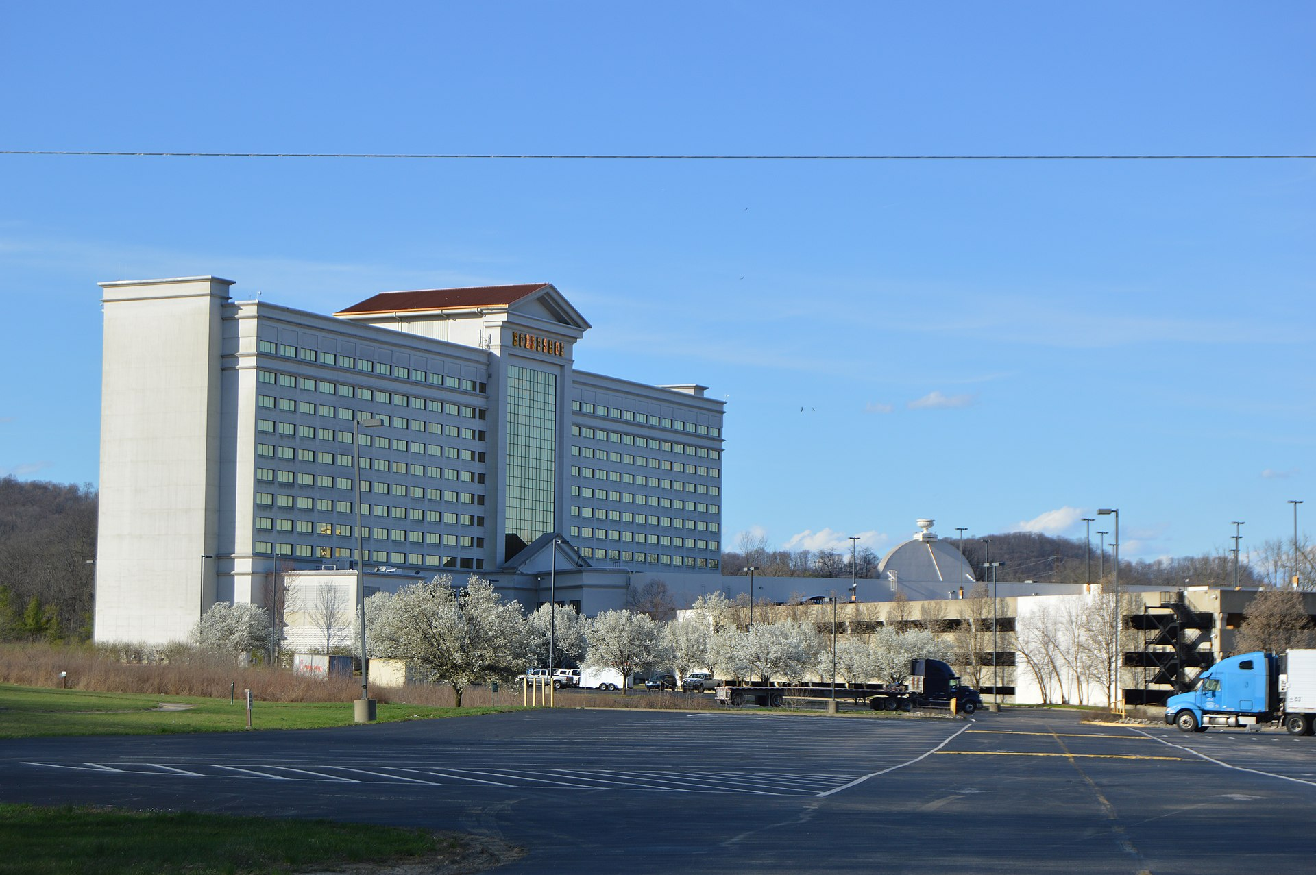 Horseshoe casino location indiana