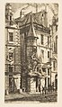 House with a Turret, rue de la Tixéranderie, Paris MET DP813111.jpg