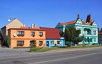 Hrochův Týnec, Smetanova street 2.jpg