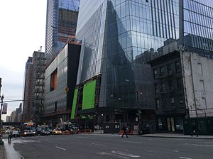 30 Hudson Yards - The tower's base