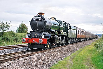 "GWR 6000 Class - 6024 King Edward I with the ""Torbay Express"", 2009"