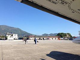 Hugo Chavez International Airport, Cap Haitien, Haiti.jpg