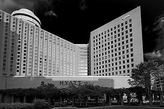 Hyatt Regency Indianapolis - Image: Hyatt Regency PNC Center Indianapolis, Indiana, USA