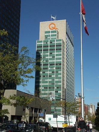 Quiet Revolution - Hydro-Québec headquarters in Montréal