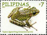 Hylarana igorota 2011 stamp of the Philippines.jpg