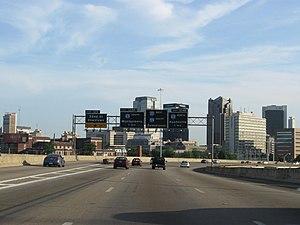 English: I-20 & I-59 in Birmingham Category:Im...