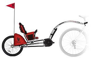 Weehoo Inc., maker of the iGo pedal trailer.