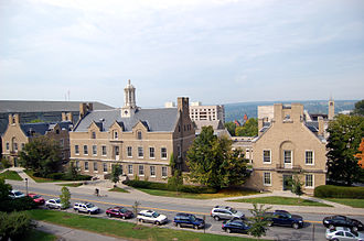 Cornell University School of Industrial and Labor Relations - Overlooking the ILR quad