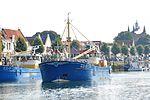 IMO 8808680 ZZ-7 EENHOORN & IMO 8811168 ZZ-3 CORNELIS JOHANNUS in de haven van Zierikzee (02).JPG