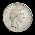 INC-867-a Талер Бавария Людвиг I 1833 г. (аверс).png