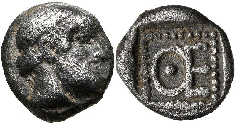 IONIA, Magnesia ad Maeandrum. Themistokles. Circa 465-459 BC