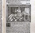 Iacobus de Cessolis, Libro di giuocho di scacchi, incunabolo, per maestro antonio miscomini, firenze 1 marzo 1493, 12 mercanti e cambiatori.jpg