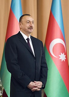 Ilham Aliyev 4th President of Azerbaijan from 2003