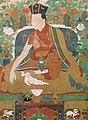 Image detail from The Ninth Karmapa, Wangchug Dorje (1555-1603) - Google Art Project (cropped).jpg