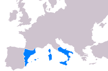 In 1324 the Kingdom of Sardinia and Corsica was part of the Crown of Aragon. Aragon made war on Arborea, but did not reduce the last of the autochthonous giudicati until 1410.