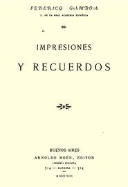 Impresiones y Recuerdos - Federico Gamboa.pdf