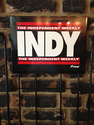 Indy Week - Image: Independent Weekly