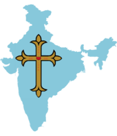 India image with Golden cross on it.png