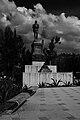 Indios Verdes; Escultura de Indios verdes en Mexico D.F.jpg
