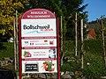 Infotafel am Ortseingang zum Heimatort von M-L. Kaschnitz - Bollschweil, B-W, Germany.jpg