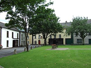 Inistioge - Image: Inistioge village green in 2008