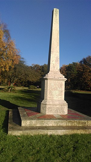 Inns of Court Regiment - The Inns of Court Officers' Training Corps Memorial at Berkhamsted