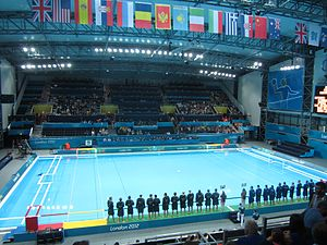 Water Polo Arena - Inside the Water Polo Arena