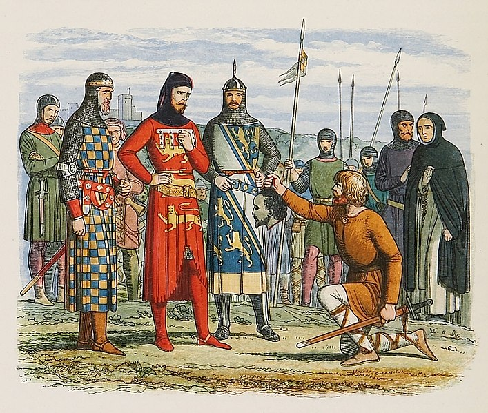 File:Inspection of Gaveston's head by the earls of Lancaster, Hereford, and Arundel.jpg