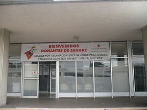 Colombian Red Cross - Blood Bank owned by the Colombian Red Cross in Bogota