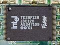 Intel TE28F128J3C-120 on mainboard of Surf@home II-8342.jpg