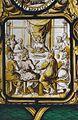 Interieur, glas-in-loodpaneel met gebrandschilderd glas, detail - Doorn - 20362506 - RCE.jpg