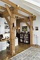 Interieur, houten draagconstructie in voormalig bedrijfsgedeelte van de boerderij - Eursinge - 20412035 - RCE.jpg