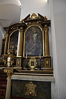 Interior of the Church of the Finding of the True Cross (Brno) 07.jpg