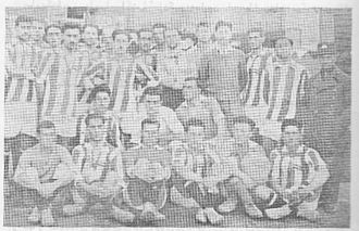 Iran national football team - The very first Iran selection football team that traveled to Baku in 1926.