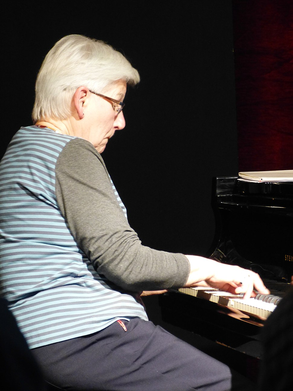 Irene Schweizer (Annamarie Ursula) P1120606