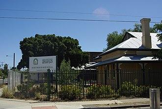 Islamic College of South Australia - Islamic College of South Australia northwestern frontage