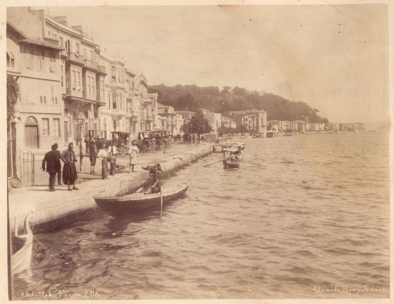 776px Istanbul   Abdullah brothers Quai de BouyukdC3A9rC3A9 before 1895