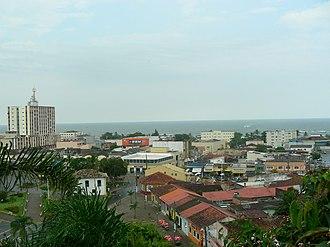 Itanhaém - View from the monastery of Itanhaém